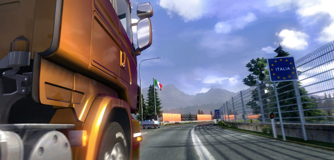 Euro Truck Simulator 2 – Scandinavia Add-On ©Rondomedia