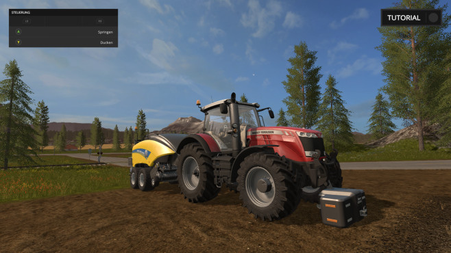 Landwirtschafts-Simulator Screenshot © Giants
