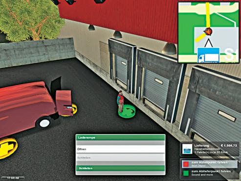 Lieferwagen-Simulator 2010 ©Astragon