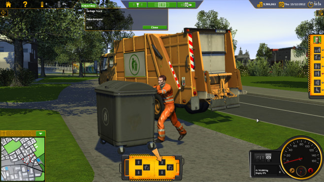RECYCLE – Der Müllabfuhr-Simulator ©Rondomedia