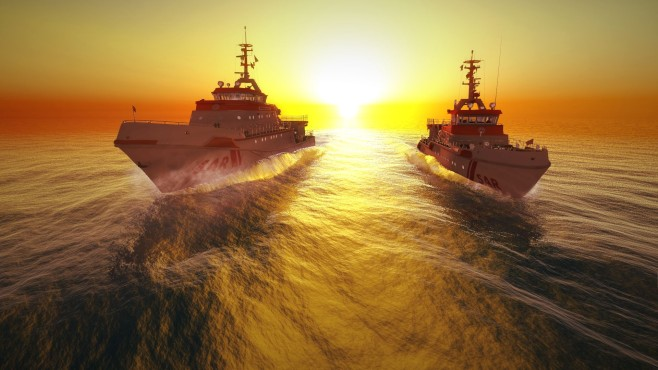 Schiff-Simulator – Die Seenotretter ©Rondomedia