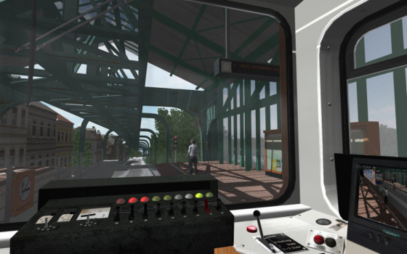 Schwebebahn-Simulator 2013 ©Rondomedia
