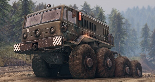 Spintires – Offroad Truck Simulator © Rondomedia