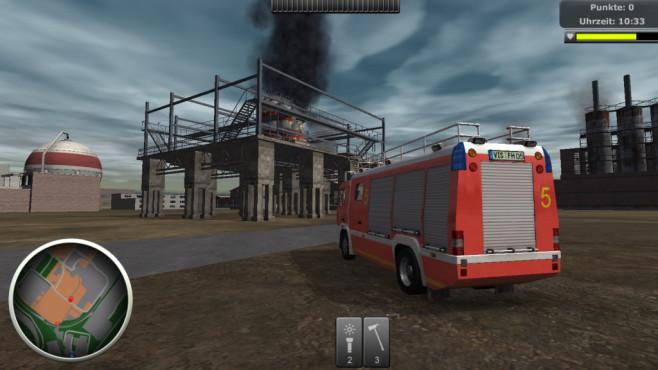 Werk-Feuerwehr-Simulator 2014 ©Rondomedia