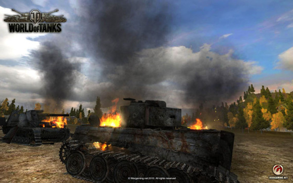Actionspiel World of Tanks: Feuer © Wargaming