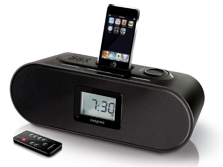 iphone dockingstation creative d160 audio video foto bild. Black Bedroom Furniture Sets. Home Design Ideas
