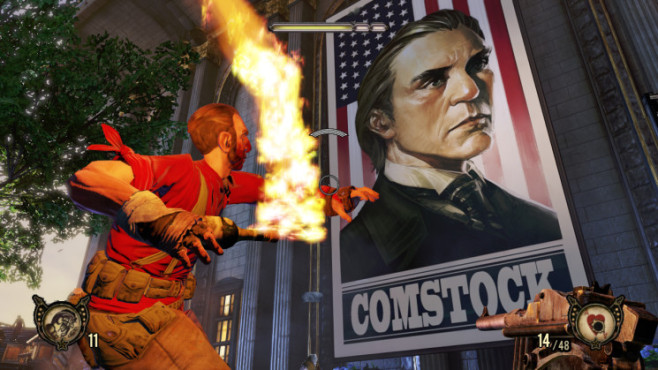 Actionspiel Bioshock Infinite: Comstock © Take-Two