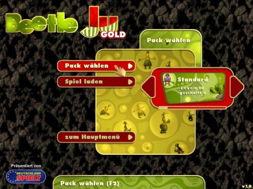 Beetle Ju Gold: Levelpack ausw�hlen