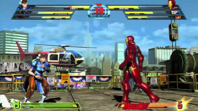 Prügelspiel Marvel vs. Capcom 3: Duell © Capcom