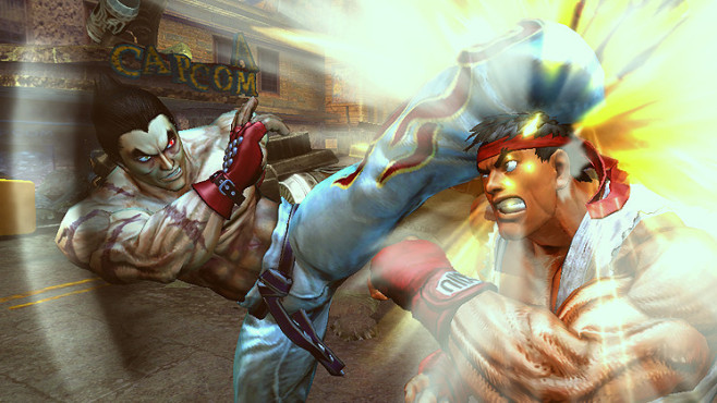 Pr�gelspiel Street Fighter X Tekken © Capcom