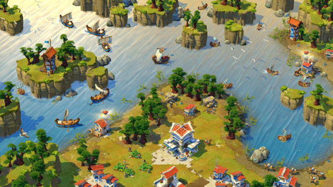 Strategiespiel Age of Empires Online: Wasser © Microsoft