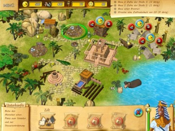 Klick-Management-Spiel Fate of the Pharaoh