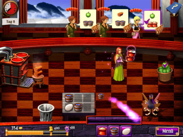 Klick-Management-Spiel Miriel the Magical Merchant