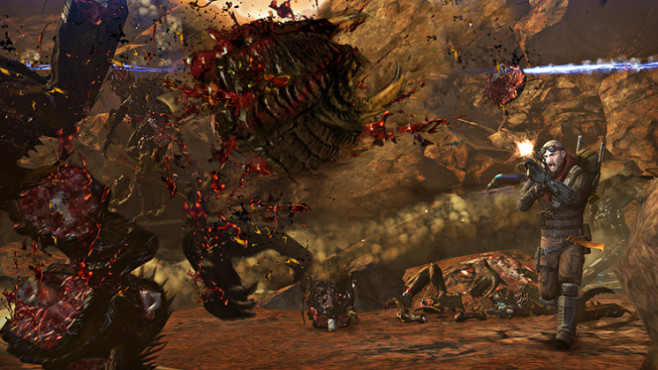 Actionspiel Red Faction � Armageddon: Beschuss © THQ