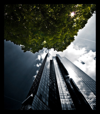 Bild: green tower – von: liquish