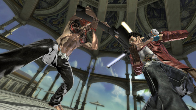 Actionspiel No More Heroes – Heroes' Paradise: Muskeln © Konami