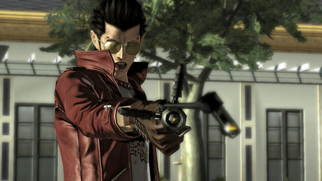 Actionspiel No More Heroes – Heroes' Paradise: Thomas © Konami