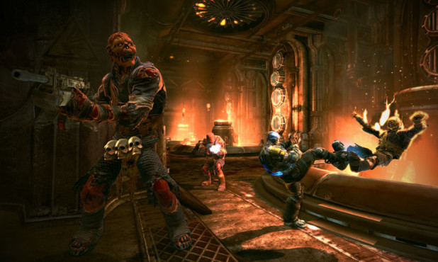 Actionspiel Bulletstorm: Monster © Electronic Arts