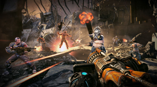 Actionspiel Bulletstorm: Monsterwaffe © Electronic Arts