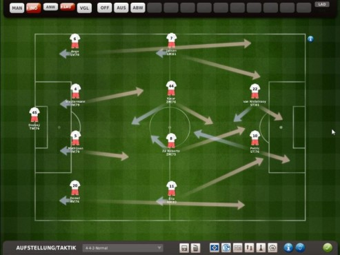 Komplettl�sung Fu�ball Manager 11: 3D-Modus © Electronic Arts