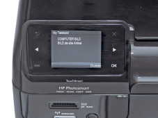 HP Photosmart Wireless e-All-in-One B110a © COPUTER BILD