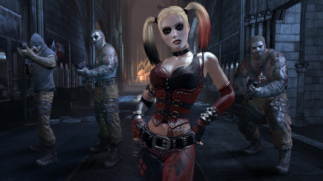 Actionspiel Batman – Arkham City: Harley Quinn © Warner Bros.
