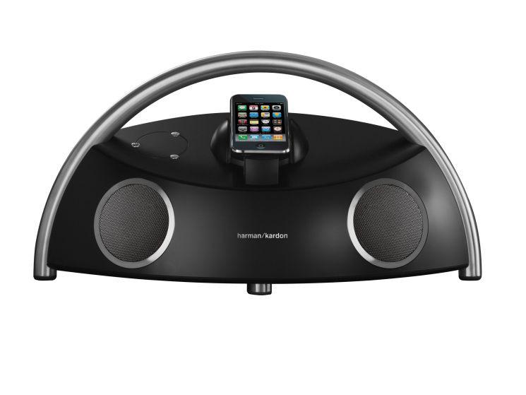 mobile dockingstation von harman kardon f r ipod und iphone audio video foto bild. Black Bedroom Furniture Sets. Home Design Ideas