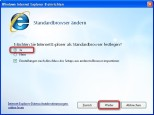 Internet Explorer 8: Standardbrowser �ndern
