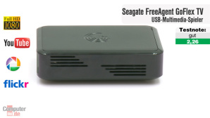 Video zum Test: Seagate FreeAgent GoFlex TV