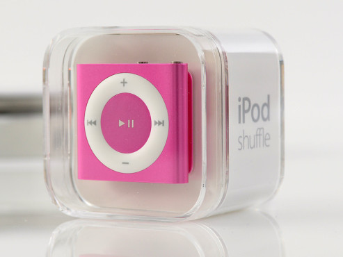 praxis test apple ipod shuffle 4g audio video foto bild. Black Bedroom Furniture Sets. Home Design Ideas