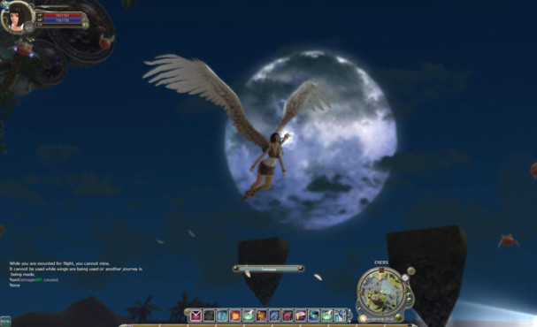 Online-Rollenspiel War of Angels: Idyll © Gamigo