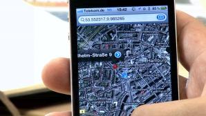 iPhone: Standort per Google Maps versenden