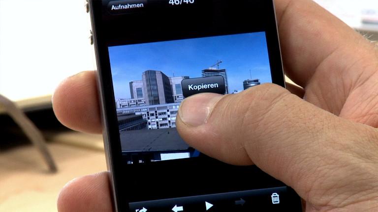 Mehrere bilder auswählen iphone x