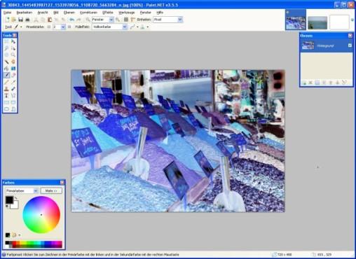 Paint.NET: Farben umkehren