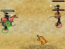 Im Minigame Wildwest-Abenteuer m�ssen Sie viele Abenteuer und Gefahren bestehen wie etwa ein Duell. ©Intenium