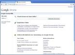 Google Chrome: Weitere Hilfethemen