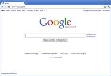 "Google Chrome: Der kompakte Gratis-Browser ""Google Chrome"" baut Webseiten blitzschnell auf. ©Google"