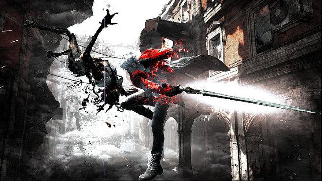 Actionspiel DMC – Devil May Cry: Devil Trigger © Capcom