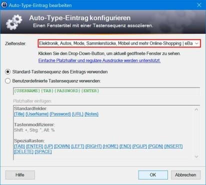 KeePass 2: Anmeldemaske von KeePass erkennen lassen ©COMPUTER BILD