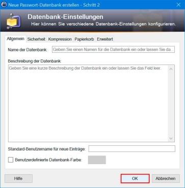 KeePass 2: Einstellungen des Datentresors anpassen ©COMPUTER BILD