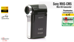 Video zum Testsieger: Sony MHS-CM5
