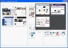 """Firefox: Mit der Panorama-Funktion behalten Sie in """"Firefox"""" die Übersicht über alle geöffneten Tabs und Webseiten."""