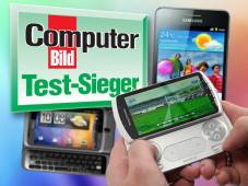 COMPUTER BILD Handy Testsieger ©COMPUTER BILD