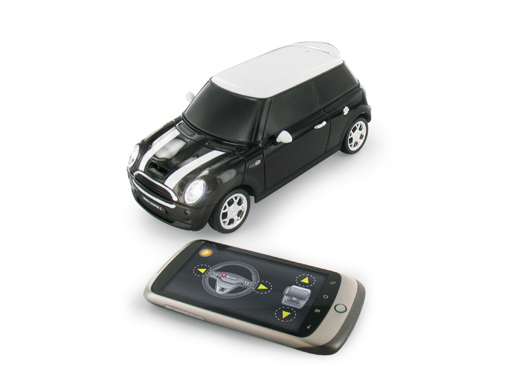 beewi mini cooper s modellauto per smartphone steuern. Black Bedroom Furniture Sets. Home Design Ideas