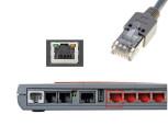 PC-Anschluss per Netzwerkkabel ©COMPUTER BILD