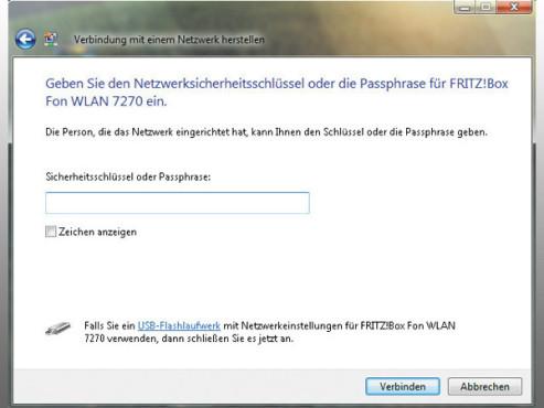 WLAN-Verbindung Windows Vista ©COMPUTER BILD