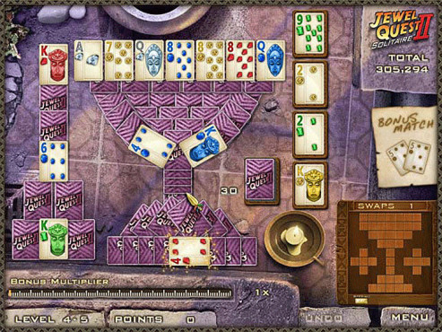 Jewel Quest Solitaire © Intenium