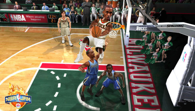 Sportspiel NBA Jam: Brandon Jennings © Electronic Arts