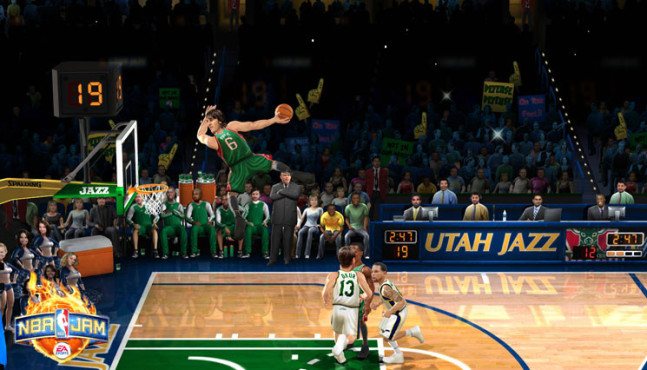 Sportspiel NBA Jam: Dunk © Electronic Arts