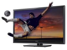 Fernseher mit Fußballer ©Sony